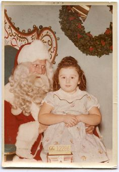 Merry Christmas and Happy Holidays from my Poor, Exploited Mother, Vintage Photograph