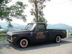 Chevrolet : Other Pickups 1968 CHEVY PICK-UP HOT ROD RAT ROD SHOP TRUCK !!!!