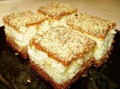 Prăjitură însiropată cu nucă - reţetă culinară