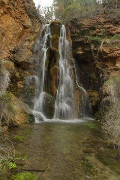 """¿Os gusta esta imagen de Carlos Gutierrez Martin? Es una Cascada en el Sitio denominado """"El Batán"""" en la Sierra de Alcaraz (Albacete)"""