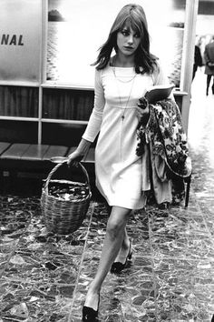 In honor of the style icon's birthday, the best vintage photos capturing her effortlessly chic signature look.