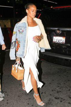 07c570f6d358 Get the Look  Rihanna s Giorgio Baldi Los Angeles Gucci Pre-Fall 2016  Embroidered Shearling
