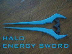 DIY Halo energy sword