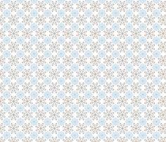 Multi Dots - Blue fabric by kristopherk on Spoonflower - custom fabric