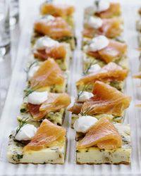 Mini Herb Frittatas with Smoked Salmon Recipe on Food & Wine