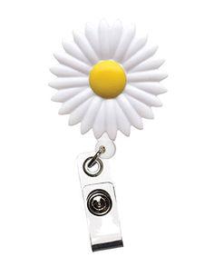 Daisy Flower Retractable Pull Reel FunkyNurse https://www.amazon.co.uk/dp/B00P6XASNK/ref=cm_sw_r_pi_dp_x_JWQYybQ3AACTJ