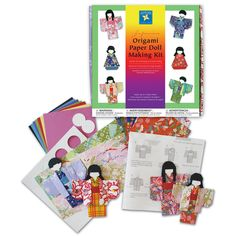 Amazon.com: Aitoh Kimono Doll Paper Kit
