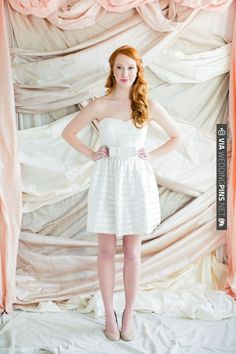 This dress from LulaKate is perfect for a bride wanting a second dress for her reception! | CHECK OUT MORE IDEAS AT WEDDINGPINS.NET | #weddingfashion