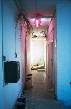 "Wolfgang Tillmanns, ""corridor installation"", 2010 unframed inkjet print on paper, clips 208 x 138 cm"