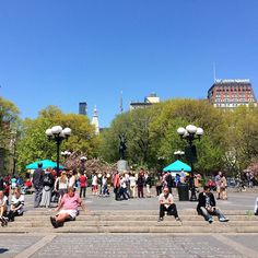Union Square this spring, NYC