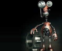 28 Best Futuristic and Glamorous 3D Robot Character Designs for your inspiration. Follow us www.pinterest.com/webneel