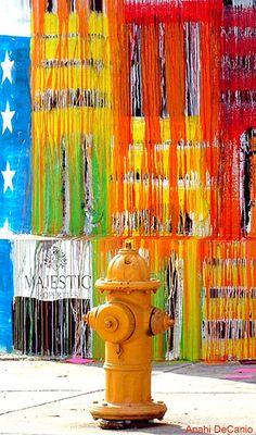 Art Basel Miami Streetart Fire Hydrant