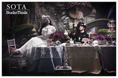 Alice in Wonderland Photo Shoot--our friends at STUDIOTHISIS!