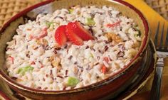 Cabernet Medley™ Strawberry Waldorf Salad - a great side dish for any grill out!