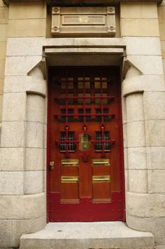 Amsterdam 086 | by AAron Metcalfe #red #brown #door
