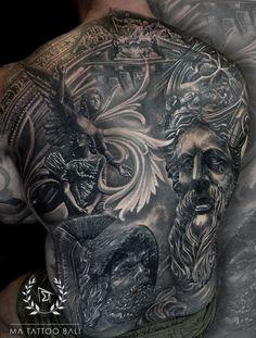 Greek Full Back Tattoo by: #Prima #MaTattooBali #BackpieceTattoo #FullBackTattoo #BaliTattooShop #BaliTattooParlor #BaliTattooStudio #BaliBestTattooArtist #BaliBestTattooShop #BestTattooArtist #BaliBestTattoo #BaliTattoo #BaliTattooArts #BaliBodyArts #BaliArts #BalineseArts #TattooinBali #TattooShop #TattooParlor #TattooInk #TattooMaster #InkMaster #AwardWinningArtist #Piercing #Tattoo #Tattoos #Tattooed #Tatts #TattooDesign #BaliTattooDesign #Ink #Inked #InkedBoy #Inkedmag #BestTattoo #Bali Ma Tattoo, Piercing Tattoo, Tattoo Shop, Tattoo Studio, Tattoo Master, Ink Master, Back Piece Tattoo, Full Back Tattoos, Fine Line Tattoos