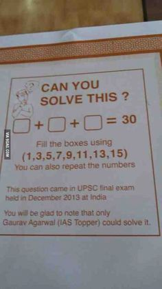 Please solve this
