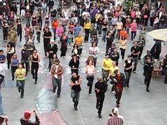 Flashmob in Hollywood