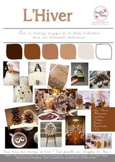nos inspirations souffles de fees l hiver planche de tendance wedding