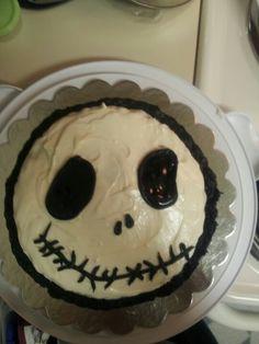 Jack The Skeleton Cake