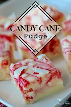 Candy Cane Fudge is not only pretty to look at it, it tastes delicious too! Add this treat to your Christmas treat lists!