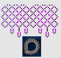 Free pattern for amazing necklace Eos | Beads Magic