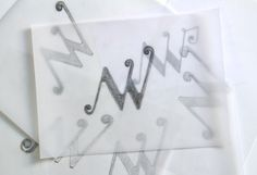 scribble for a monogram