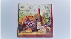 Boros, szőlős, pogácsás decoupage szalvéta Decoupage, Frame, Painting, Home Decor, Art, Picture Frame, Art Background, Decoration Home, Room Decor