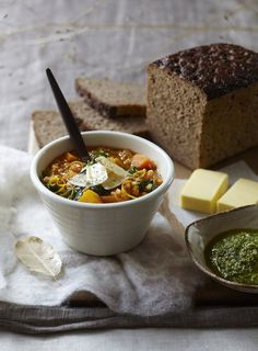 Winter Vegetable and Pearl Barley Soup