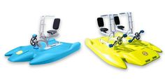 Amazon.com : ITBIKE SOLO and DUO. Water Bike for fun on the lake, sea, ocean or river. Aqua rider for outdoor water sports, fitness waterbike. : Sports & Outdoors