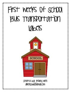 These labels are great to use for the first weeks of school.  They help the bus drivers get to know the students and to ensure they get on the righ...