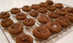 Weight Watchers Friendly Recipes: Nutella Thumbprints..2 points a cookie...I would probably want 100!!!