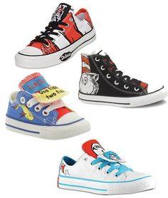 COVET!!! I want, I want, I want these Dr Seuss Chucks so bad