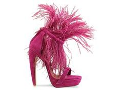 Fraggle rock fabulousness. Jeffrey Campbell Feather 2