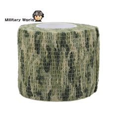 Find More Travel Kits Information about Tactical Military 1 Roll Camo Stretch Bandage Camping Hunting Camouflage Tape (4.5M) Grass Green Camo Durable Self Adhesive Tape,High Quality tape cats,China tape design Suppliers, Cheap tape aluminum from Military World on Aliexpress.com