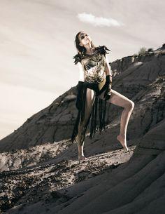 Image: Wilkosz + Way // MUAH: Alicja Wilkosz // Model: Ania B // Armor: John James