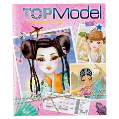 Image for Top Model Around The World Tekenboek from Bart Smit
