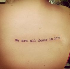I like this for a tattoo, but I think I'd do a different font and placement...