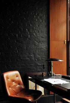 these rich, dark colors are amazing. black brick.