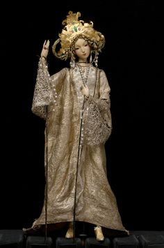 Princess from Dragonslayer puppet by Richard Teschner (1928)~Image © Theatre Museum, Vienna