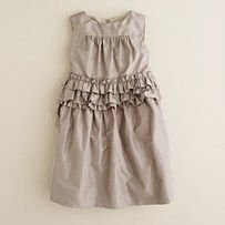 Like the color and the style of this dress for baby girl to wear