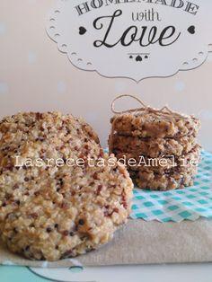 Las Recetas de Amélie: Galletas de avena y quinoa