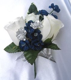 43 Best Navy And Silver Wedding Ideas Images Wedding Bouquets