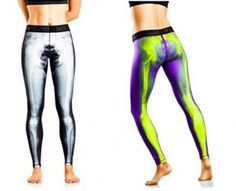 Nike's x-ray tights don't leave much to the imagination