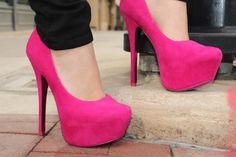 pink heels!