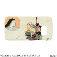 Tomioka Eisen Samurai Warrior Classic japanese art Samsung Galaxy S7 Case