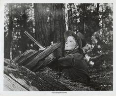 Katharine Hepburn On Location For Rooster Cogburn 1975