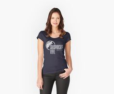 fbbbb8ae377  Championship Vinyl  Women s Fitted Scoop T-Shirt by mysundown