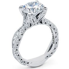 Gorgeous Tacori engagement ring! #engagement_rings #tacori