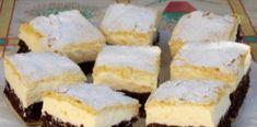 Domácí čokoládové řezy s lahodným vanilkovým krémem a delikátní chutí!